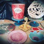 manufatti in ceramica realizzati dai partecipanti
